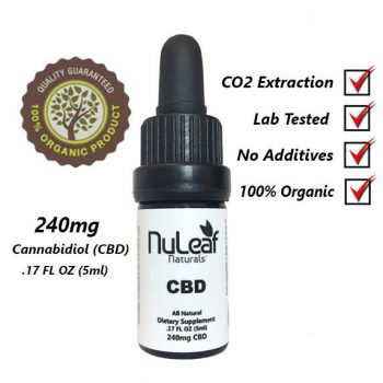 NuLeaf Naturals 240mg CBD Oil , nuleaf naturals, Nuleaf 240mg
