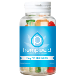 Hemplucid all natural full spectrum gummies
