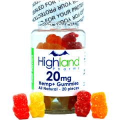 highland pharms gummies 20mg