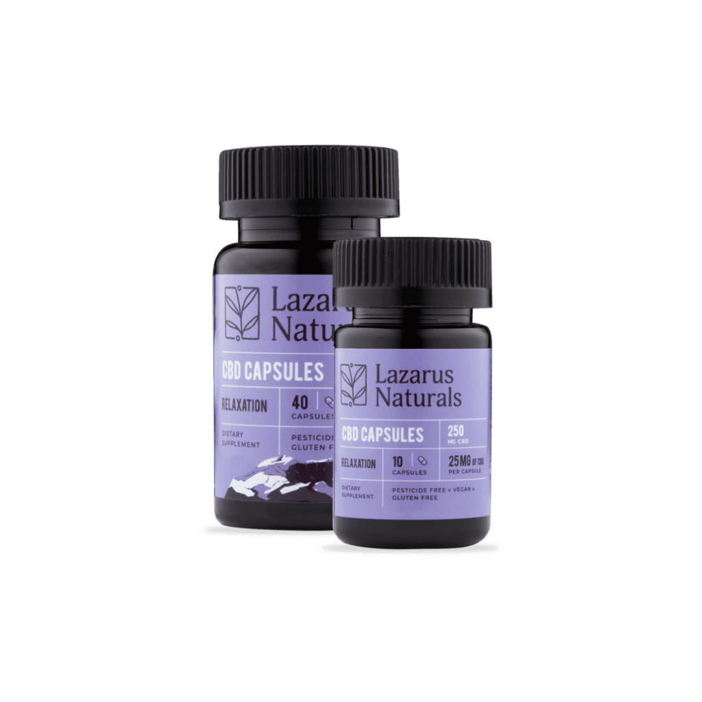 relaxation 25mg capsules