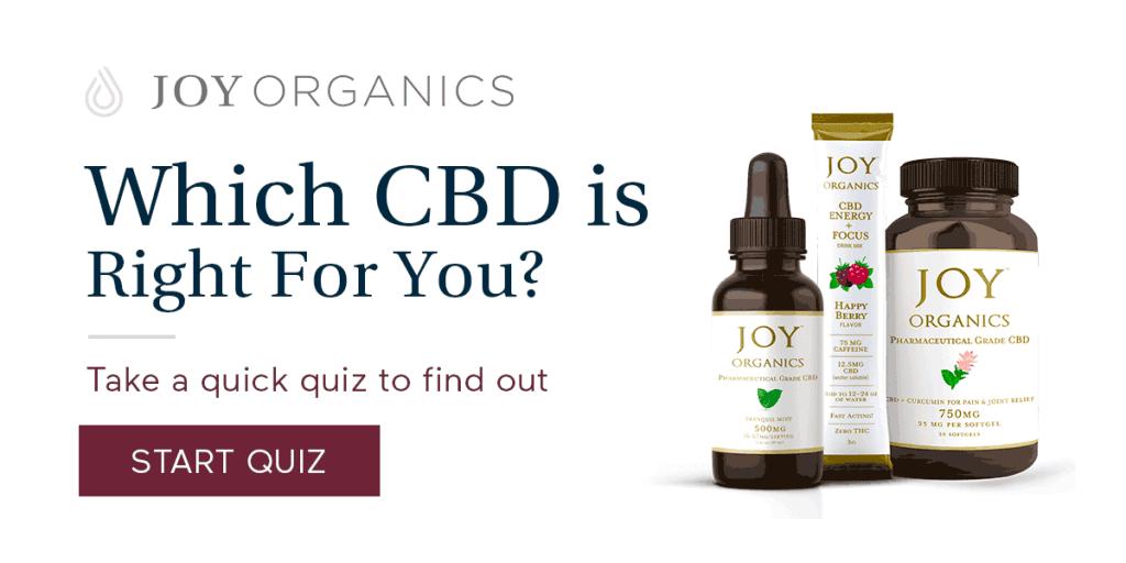 Joy Organics cbd Quiz