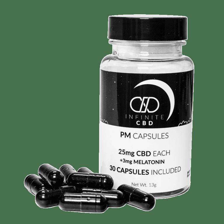 infinitecbd pm capsules